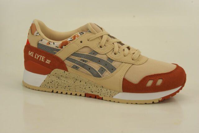 outlet store db9ee 067f2 Asics Gel-Lyte III 3 Trainers Casual Shoes Sneakers Men's Women's H7Y0L-0593
