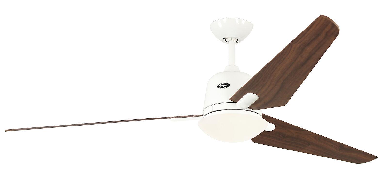 Ceiling fan CasaFan ECO AVIATOS 162cm 516094 White / Walnut