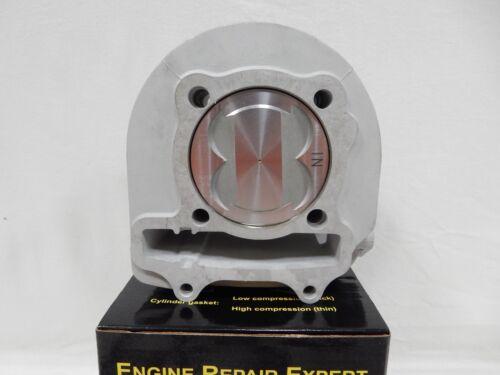 67mm GY6 CERAMIC 4-VALVE CYLINDER SET WITH PISTON TAIDA 232cc 57mm SPACING
