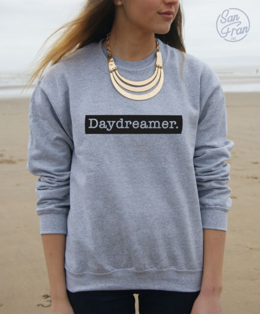 * DAYDREAMER Jumper Sweater Sweatshirt Top Tumblr Retro Cute Vintage vogue dope*
