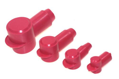 Anillo de cable zapato isolierkappe capuchón protector rojo tapa de goma de la punta 28 n3 de cable hasta ∅ 12,7mm