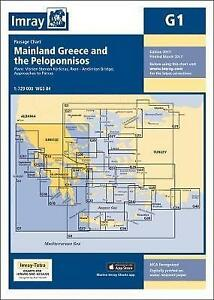 Imray-Chart-G1-Mainland-Greece-and-the-Peloponnisos-G-Series-by-Imray-NEW-Bo