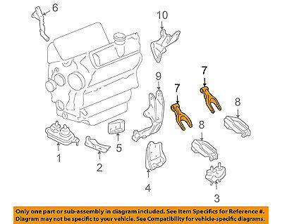 GM OEM-Engine Motor Mount Torque Strut 15854940