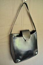 BALLY Black genuine leather shoulder bag handbag