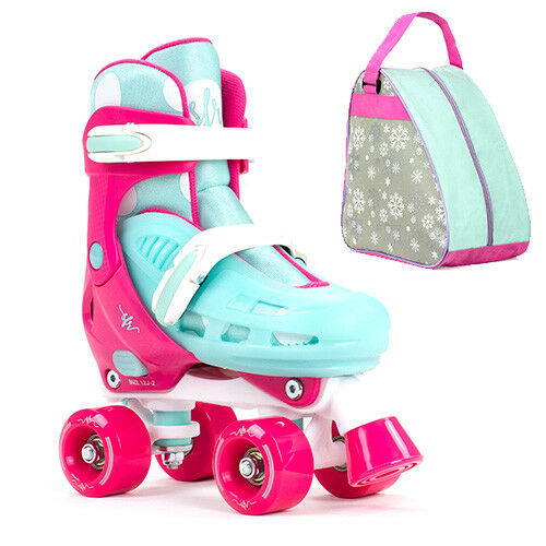 SFR Hurricane II With Adjustable Quad Roller Skates Girls - With II Optional Bag df3c26