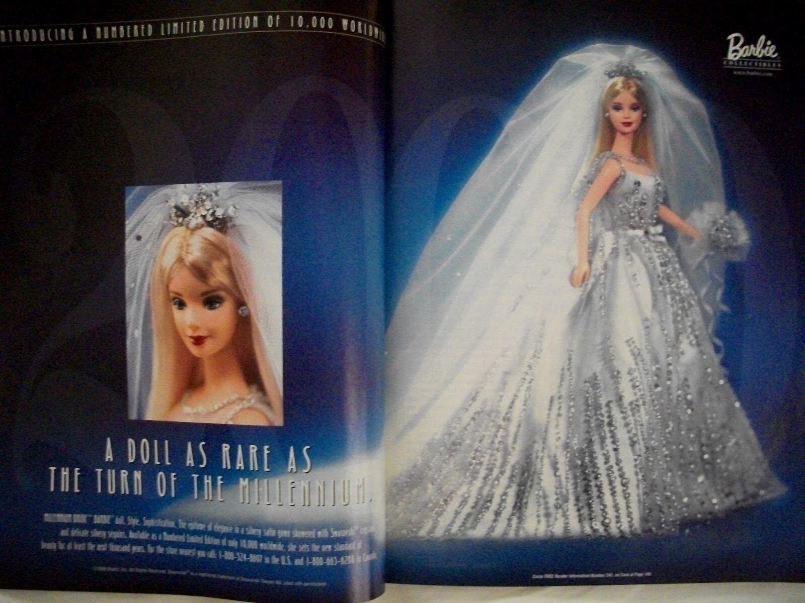 Sammler Collector Barbie Barbie Barbie  Millennium Bride 2000 Limited Edition  NRFB  | Wir haben von unseren Kunden Lob erhalten.  06bbcd