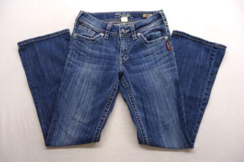 Jeans Suki Womens Bootcut Blue 26 Denim New Silver X 30 Wash Cotton Med Sz UnwTTZ5q