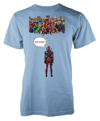 Marvellous Avengers Squad Deadpool End Game Kids T Shirt