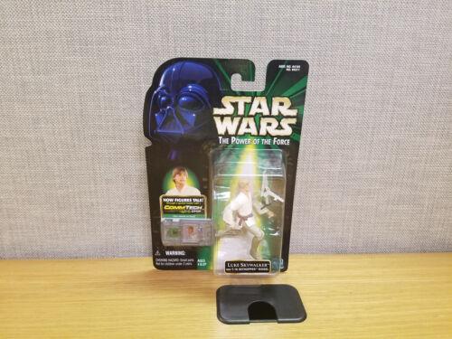 Hasbro Star Wars Commtech Luke Skywalker avec T 16 SKYHOPPER Action Figure