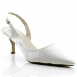 white kitten heel sandals uk