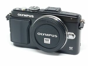 Corpo Fotocamera Digitale Mirrorless Olympus E-PL5 Black - 600 scatti