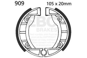 FIT FANTIC 50 Sprinter/3V.R 83>     EBC FRONT BRAKE SHOE SET