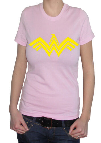 fm10 t-shirt maglietta donna WONDER WOMAN batman v superman CINEMA/&TV