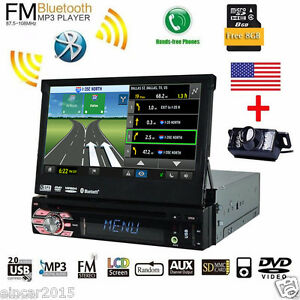 Details about Single 1 Din Car Stereo 7