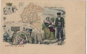 Postal-MAPA-Provincias-N-22-HUELVA
