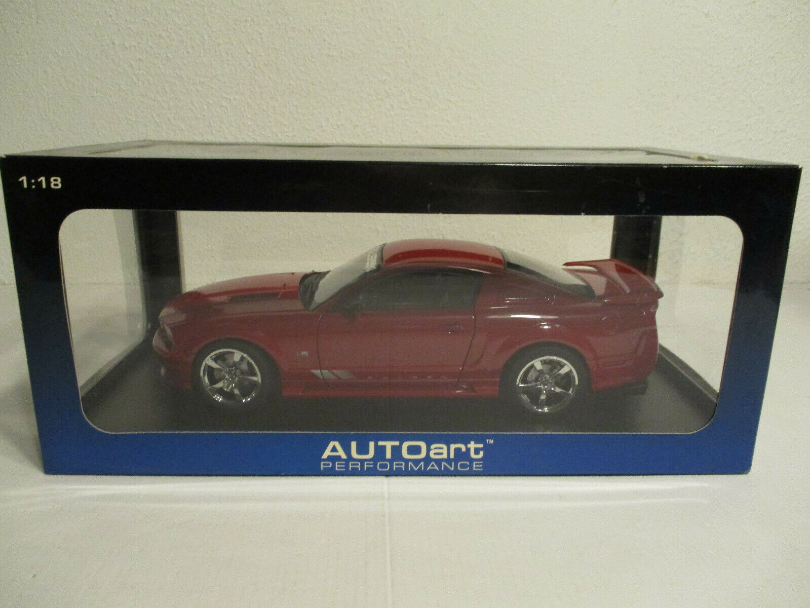 ( Gok ) 1:18 Autoart Ford Saleen Mustang S 281 Nuovo Conf. Orig.