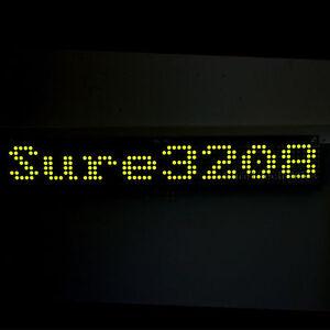 32X08-3208-Green-LED-5mm-Dot-Matrix-Display-Information-Board-HT1632C