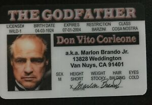 Card My godfather and its magnet