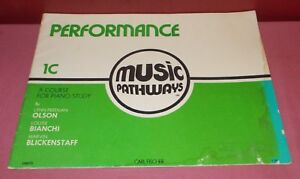 1973 Performance Musique Voies 1 C Livre De Poche Musique Livre Instructional ^-afficher Le Titre D'origine ProcéDéS De Teinture Minutieux