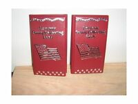 Red Souvenir Penny Collecting Book/album (set Of 2) For Elongat... Free Shipping