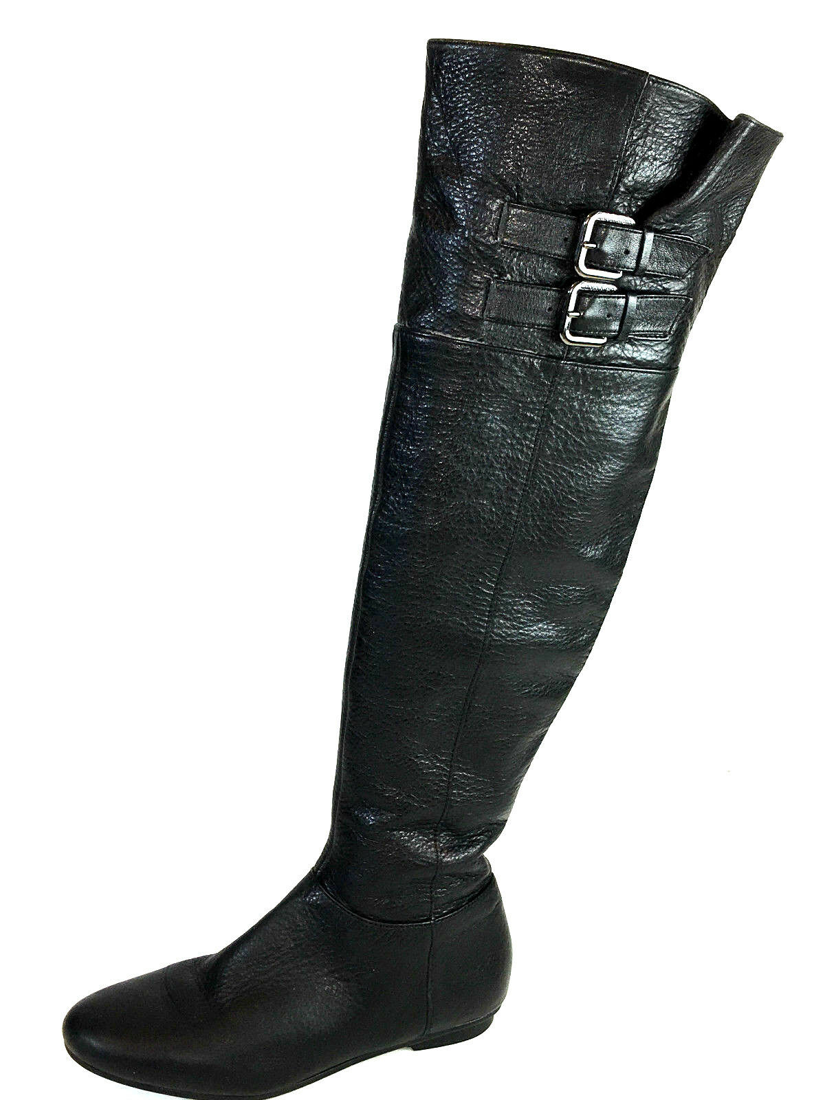 Calvin Klein Michelle Adjustable Buckle, Over the Knee Black Boots Size Size Boots 6.5 Usa. 28f199