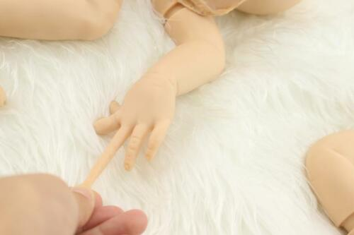 Full Solid Soft Silicone Handmade Kits DIY Kits for Reborn Baby Lifelike Dolls