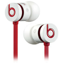 Beats by Dre UrBeats Headphone Earphone White and Red