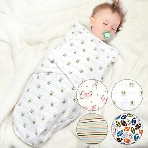Newborn-Infant-Baby-Boy-Girl-Blanket-Soft-Cotton-Warm-Swaddle-Wrap-Sleeping-Bag