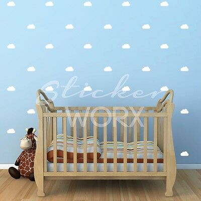 Cloud Wall Stickers, wall decals, clouds, wall art