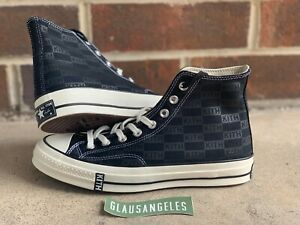 14f338c42d8 Details about Kith Classics Black Converse Chuck Taylor All-Star 70s Hi  Size 8 Rare!