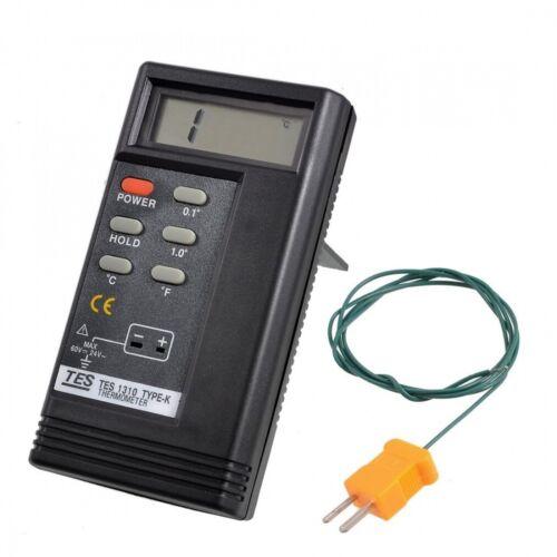 1300C Digital Thermometer Temperature Reader Sensor TES-1310-50 to