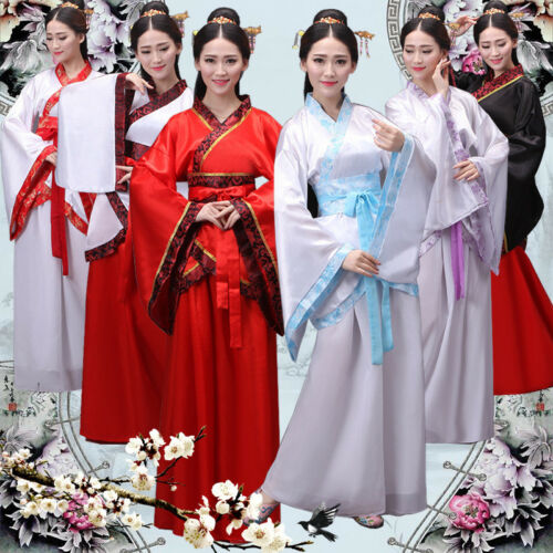 Han Chinese Clothing Wedding Tang Dress Woman Girls Party Costume Cosplay Dress