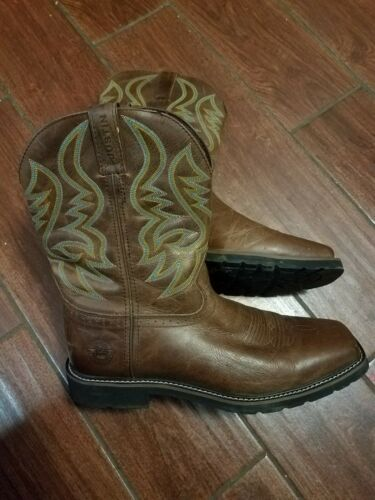 Justin Boots square toe 11.5ee