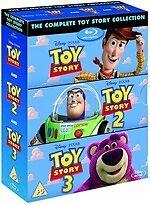 Toy Story 1 + 2 + 3 New Blu-ray RegB