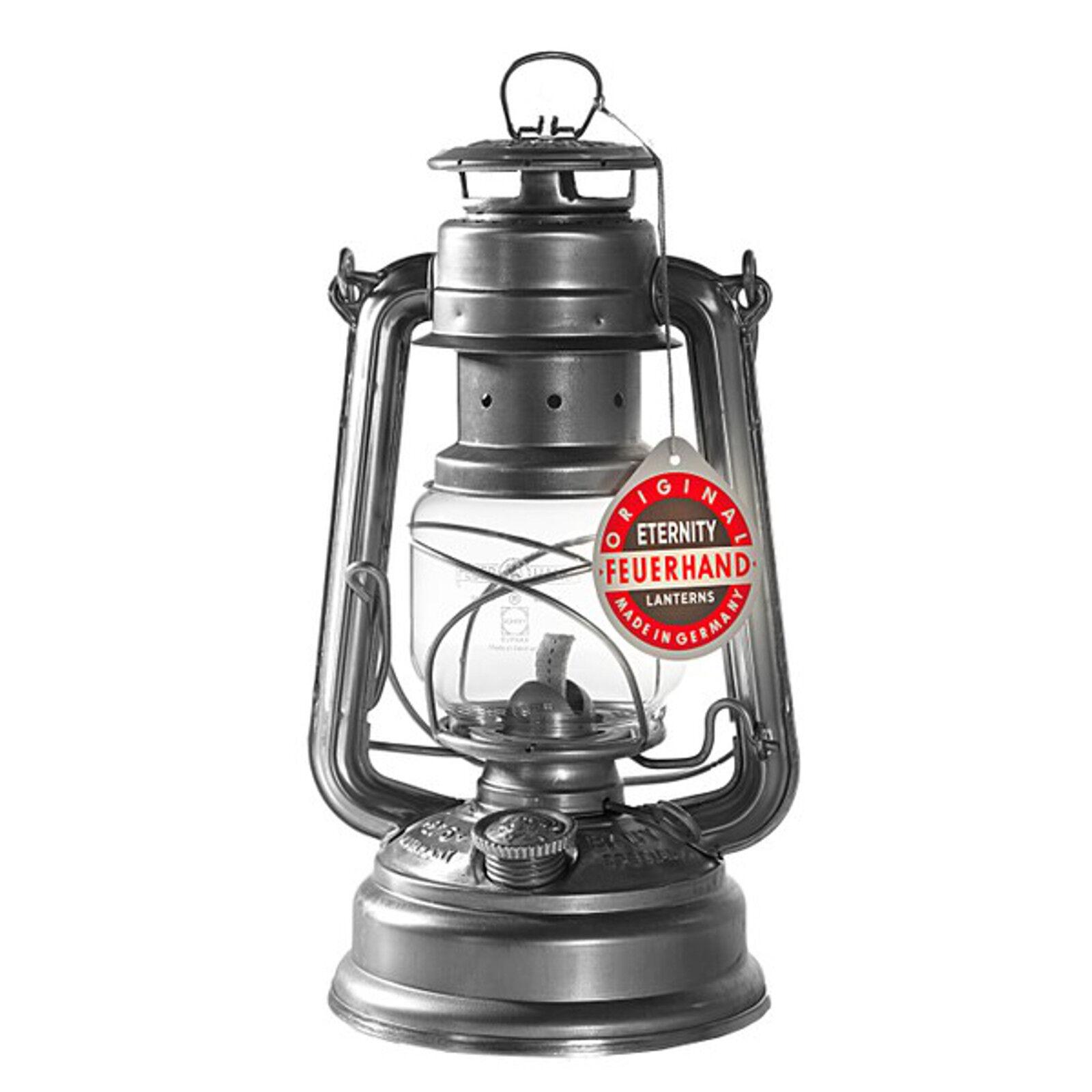 FEUERHAND ® tempête lanterne 276 276 276 Eternity galvanisé rostresistent lampe à pétrole 76537e