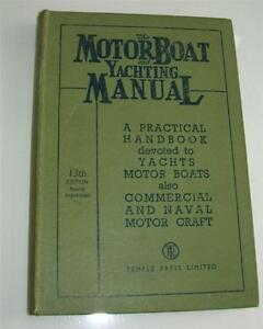 Old motorboat and yachting manual  13th edition 1940039s - <span itemprop='availableAtOrFrom'>Exeter, United Kingdom</span> - Old motorboat and yachting manual  13th edition 1940039s - Exeter, United Kingdom