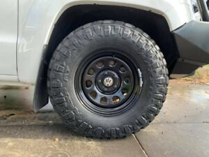 Centre-caps-suit-VW-Amarok-Transporter-with-steel-wheels-dynamic-kings