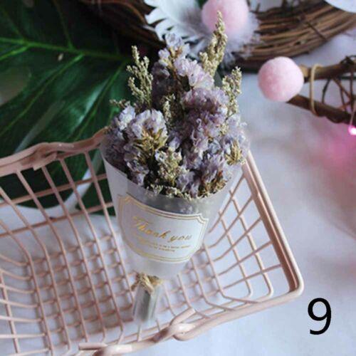 Natural Dried Flowers Mini Crystal Grass Gypsophila Immortal Flower Home Decor+