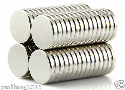25PCS N52 12mm X 2mm Super Strong Round Disc Magnets Rare Earth Neodymium magnet