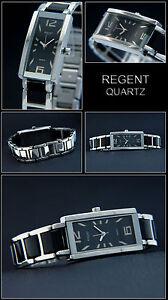 0a0415969 Elegant & Sporty Ladies Regent Watch Ceramic Look Stainless Steel in ...