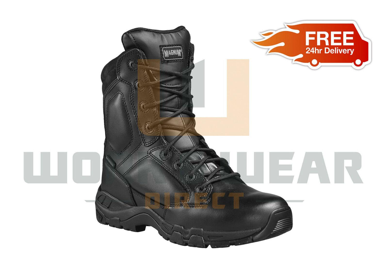 Magnum VIPER PRO 8.0 in Pelle Impermeabile Di Sicurezza Combat Stivali Tattici in magazzino