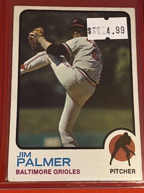 VINTAGE 1973 Topps Baseball Card Set #160 HOF BALTIMORE ORIOLES - Jim Palmer