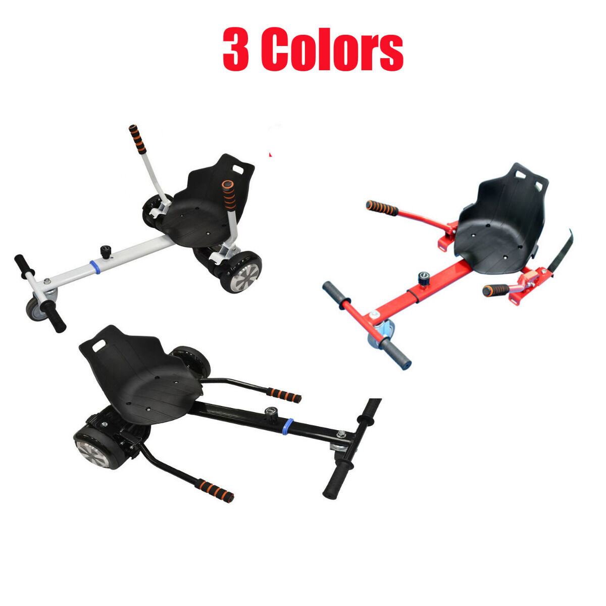 Adjustable Hover Go Kart Cart Fits 6.5810 for Hoverboard Accessory