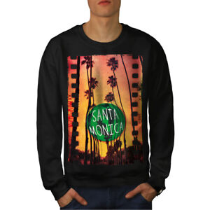 Santa Holiday Noir Sweat Monica City New BdrCeoQxWE