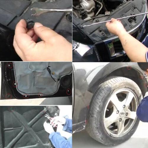 Car 1000PCS Mixed Auto Fastener Bumper Rivet Door Panel Fender Clips with Tool