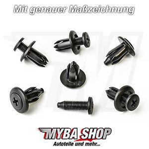 Screw-Rivet-Mounting-Clip-Universal-Clip-Honda-GM-Mazda-Clips-NEW-X20
