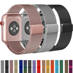 Apple Watch Series 6 5 4 3 2 1 Milanese Loop Band I Watch Strap 38 42 40 44mm