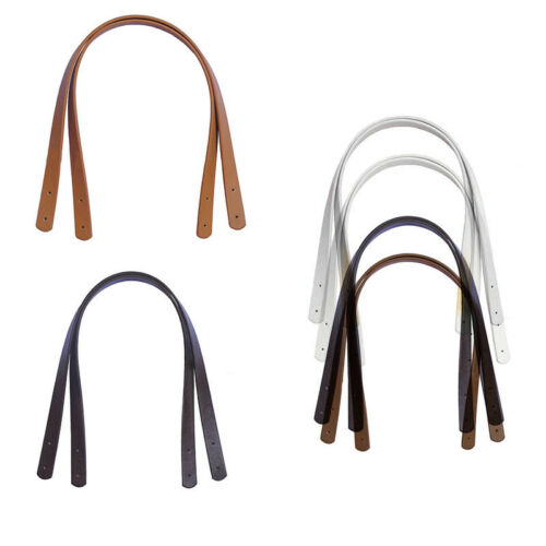 2Pc Replacement Strap For Handbag Purse Tote Bag PU Leather Handle Strap Supply