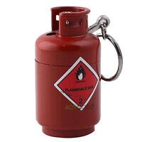 Little Gas Bottle Shape Refillable Butane Flame Torch Jet Cigarette Lighter Gift