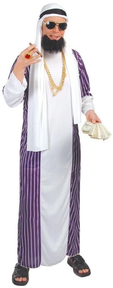 Herren Reich Araber Arabisch Arabisch Arabisch International Welt Scheich Kostüm Kleid Outfit     | Stilvoll und lustig  a8cd7e
